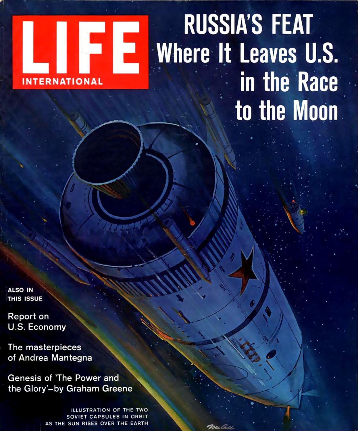 the search for meaning in 2001 the 2001 archive life magazine 24 1962 cover art by robert mccall who would